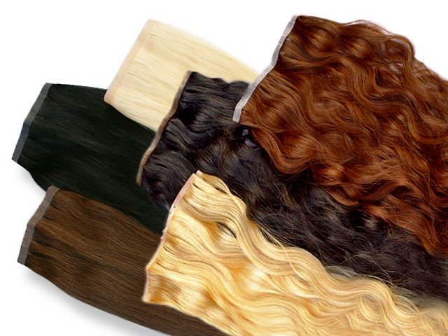 Tape Extensions / Skin Wefts