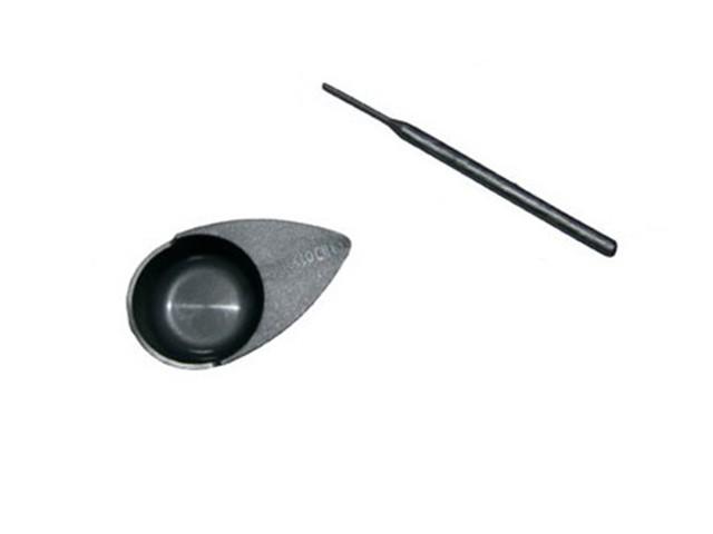 Mini Färbeschale und Stäbchen für Wimpern- und Augenbrauenfarbe