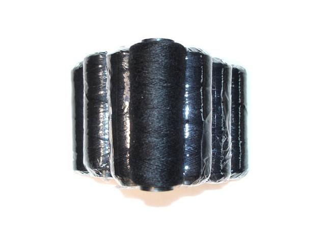 MilleniumHair Tressengarn 30 m - Schwarz - Haarverlängerung