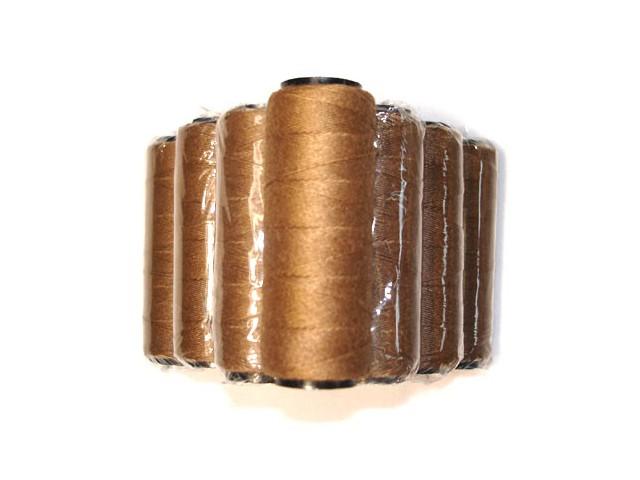 MilleniumHair Tressengarn 30 m - Dunkelblond - Haarverlängerung