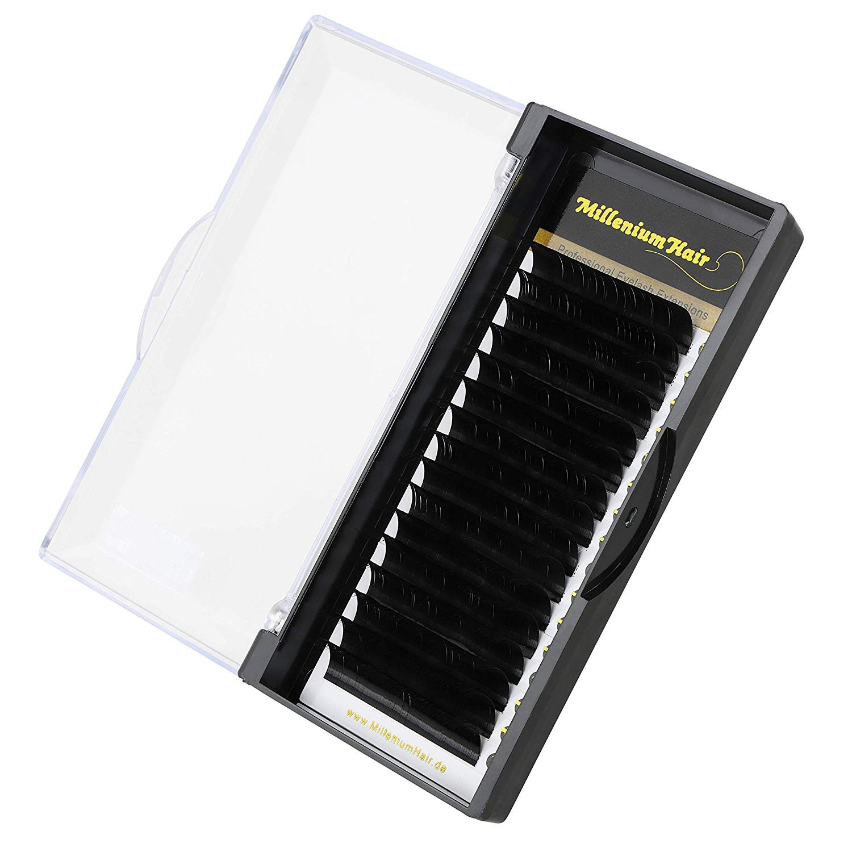 MilleniumHair Silk Lashes - Seidenwimpern - D-Curl - 0,07 mm Stärke - Länge wählbar