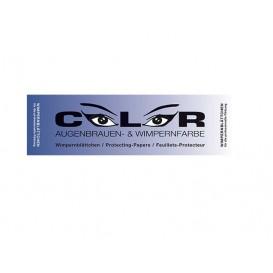 Color Wimpernblättchen - 96 Stück - für Wimpern- und Augenbrauenfarbe