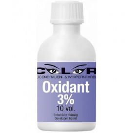 Color 3 % Oxidant - Entwicklungsflüssigkeit - für Wimpern- und Augenbrauenfarbe (50 ml)