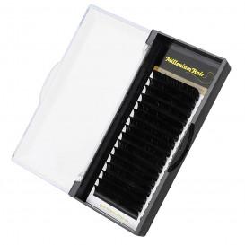 MilleniumHair Silk Lashes - Seidenwimpern - C-Curl - 0,07 mm Stärke - Länge wählbar
