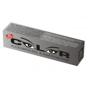 Color Wimpernfarbe - Augenbrauenfarbe - Tiefschwarz (15 ml) - Wimpernverlängerung