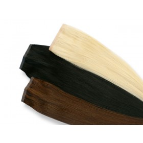 Indische Skin Weft, glatt, 55 g, 60 cm - Haarverlängerung