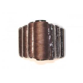 MilleniumHair Tressengarn 30 m - Braun - Haarverlängerung