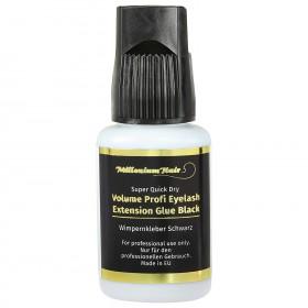 MilleniumHair Profi Volumenkleber - Lashes Glue (10 g) Schwarz - Wimpernverlängerung