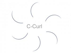 MilleniumHair C-Curl Lashes - C-Curl Wimpern - 0,25 mm Stärke - Länge wählbar