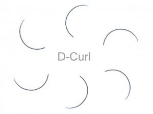 MilleniumHair D-Curl Lashes - D-Curl Wimpern - 0,25 mm Stärke - Länge wählbar
