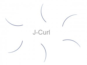 MilleniumHair J-Curl Lashes - J-Curl Wimpern - 0,15 mm Stärke - Länge wählbar